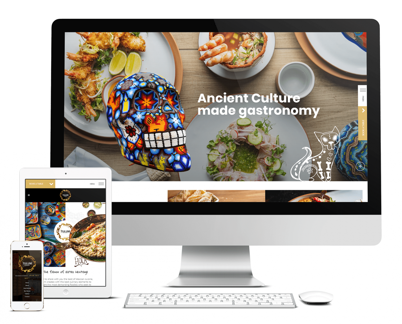 Meshico Restaurant Group Website
