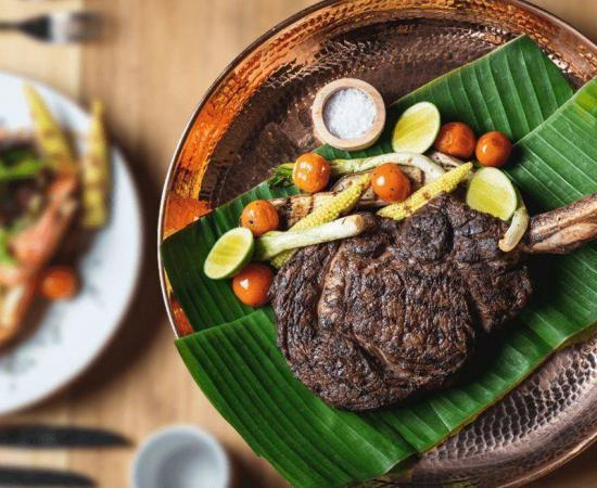 A menu should make excellent use of vivid imagery that leaves your customers salivating.