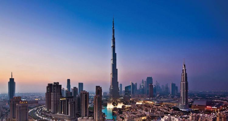 The beautiful city of Dubai.