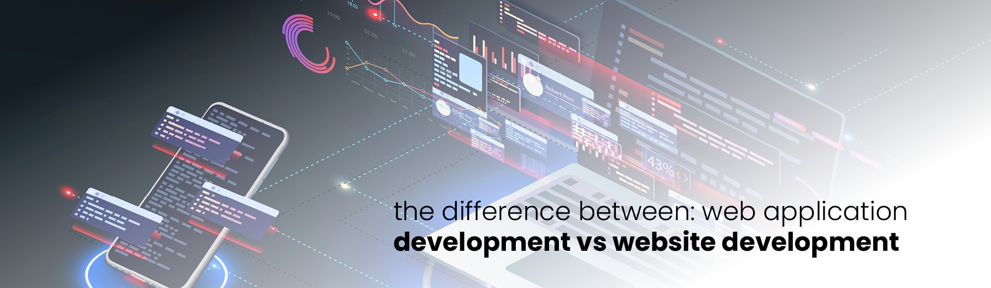 The Difference Between: Web Application Development vs Website Development